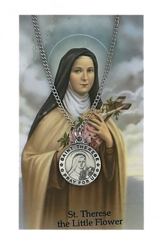 St Therese Prayer Card Set