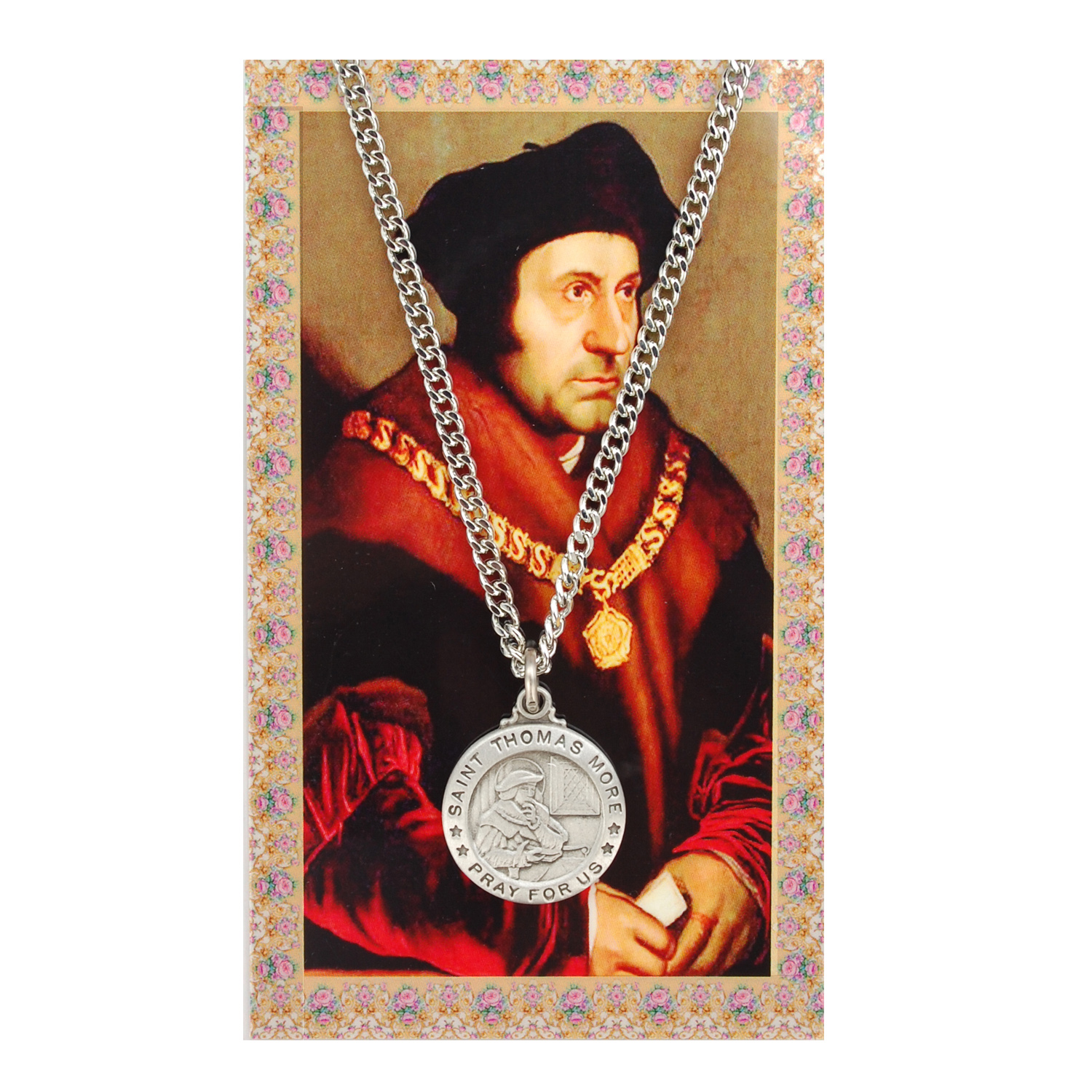 St Thomas More Prayer Card Set