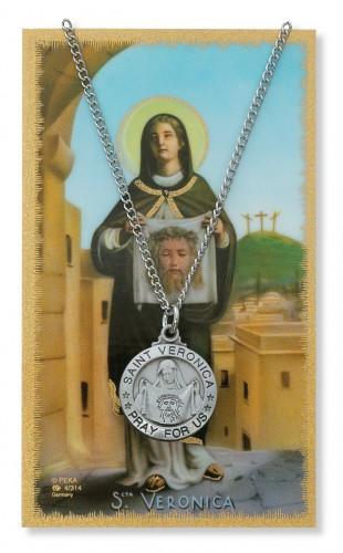 St Veronica Prayer Card Set
