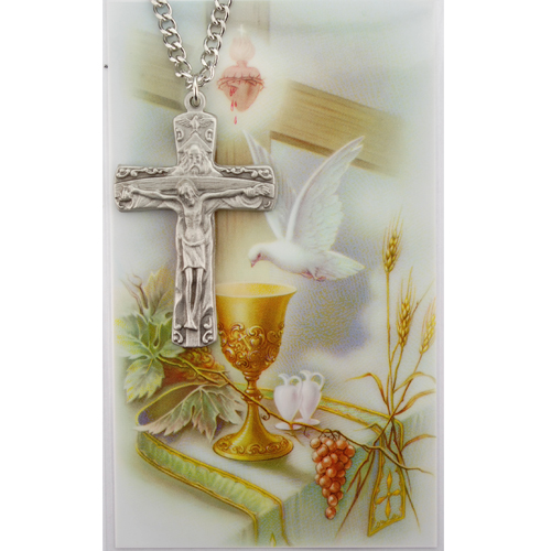 Trinity Cross Prayer Card Set