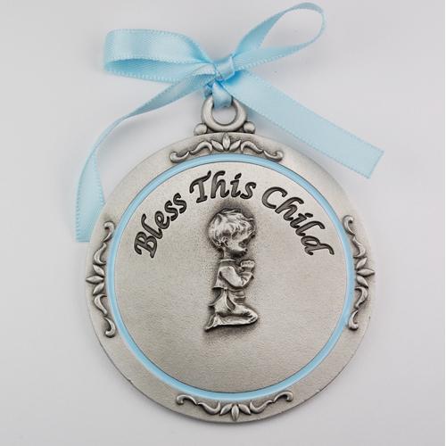 Boy Crib Medal/Carded