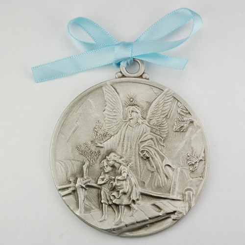 Guardian Angel Crib Medal/Card