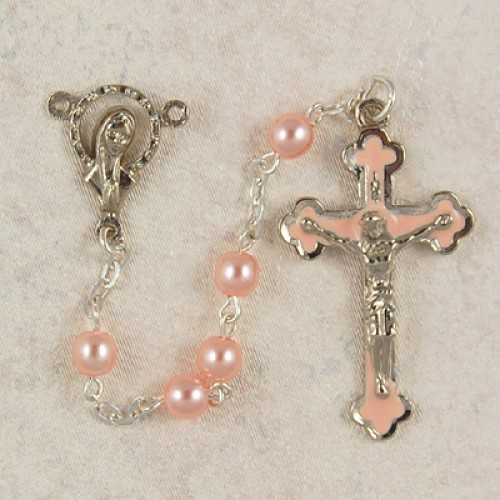 5MM Pink Rosary