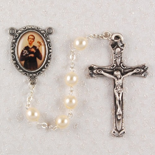 6MM Pearl St. Gerard Rosary