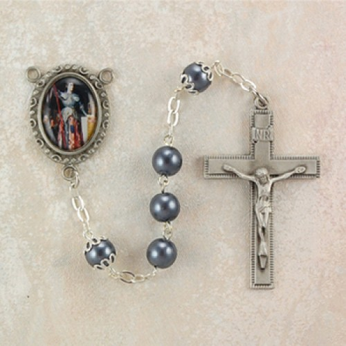7MM Hematite St Joan Of Arc