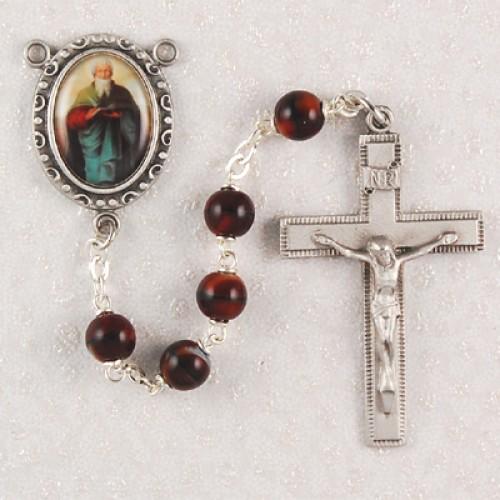 7MM Red St. Matthew Rosary