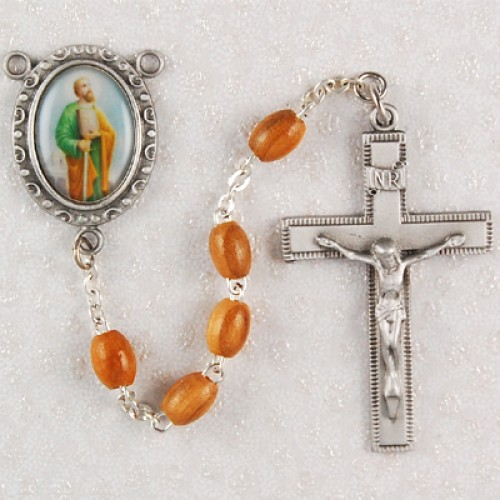Olive Wood St. Paul Rosary