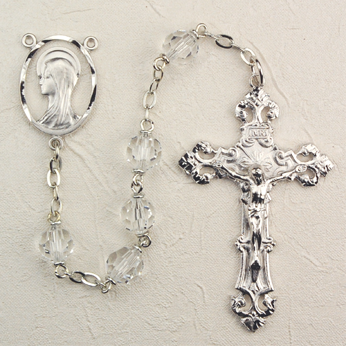 7MM Crystal Rosary