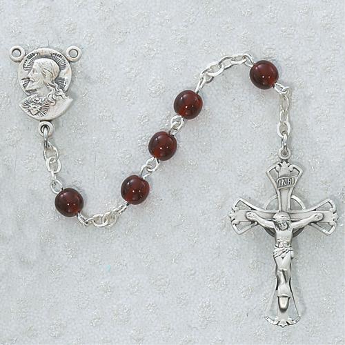 5MM Garnet Rosary