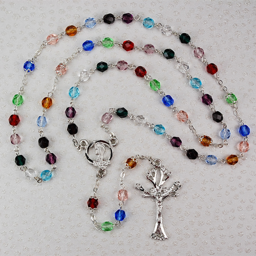 6MM Tree Of Life Rosary