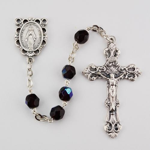 6MM AB Garnet/January Rosary
