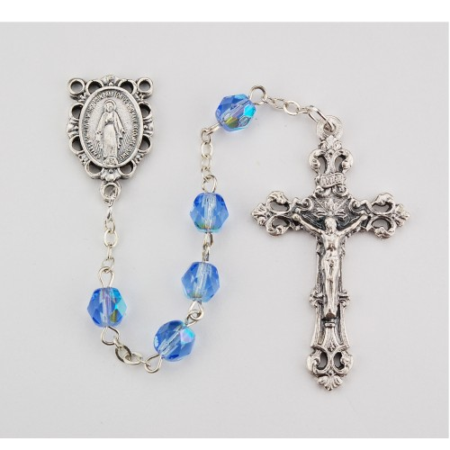 6MM Zircon/December Rosary