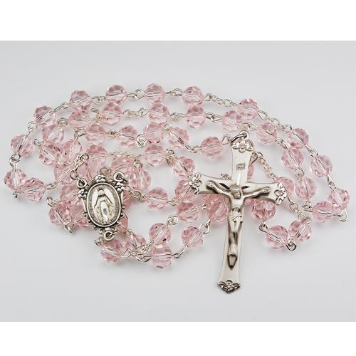 7MM Rose Tincut Rosary