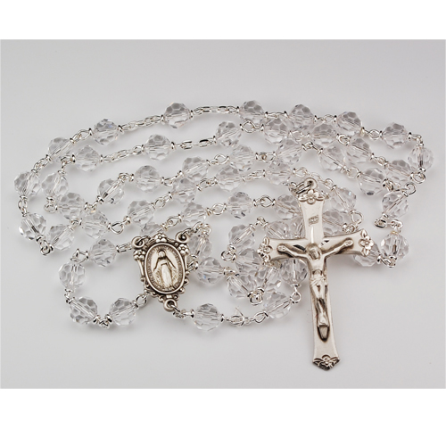 7MM Crystal Tincut Rosary