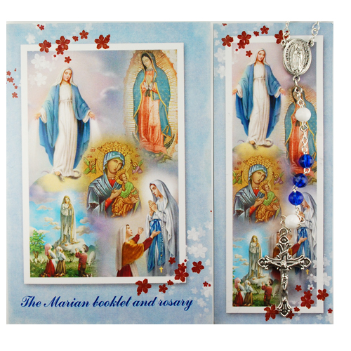 Marian Rosary & Prayer Booklet