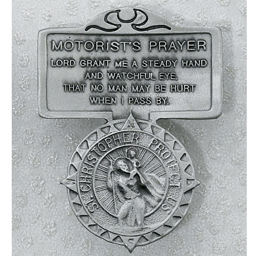 Motorist Prayer Visor Clip