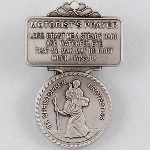 St Christopher Visor Clip