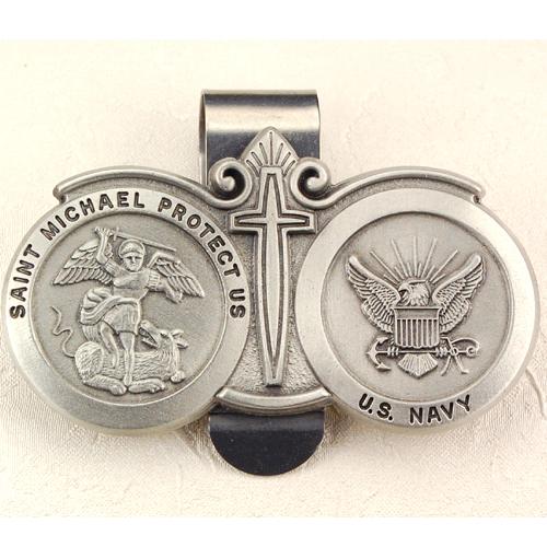 Navy Visor Clip /Carded