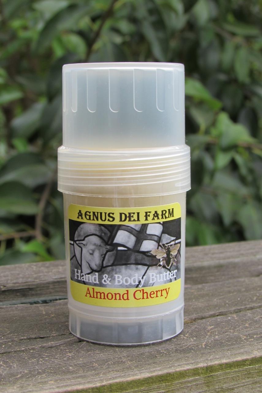 Queen Bee Hand & Body Butter Almond Cherry Small
