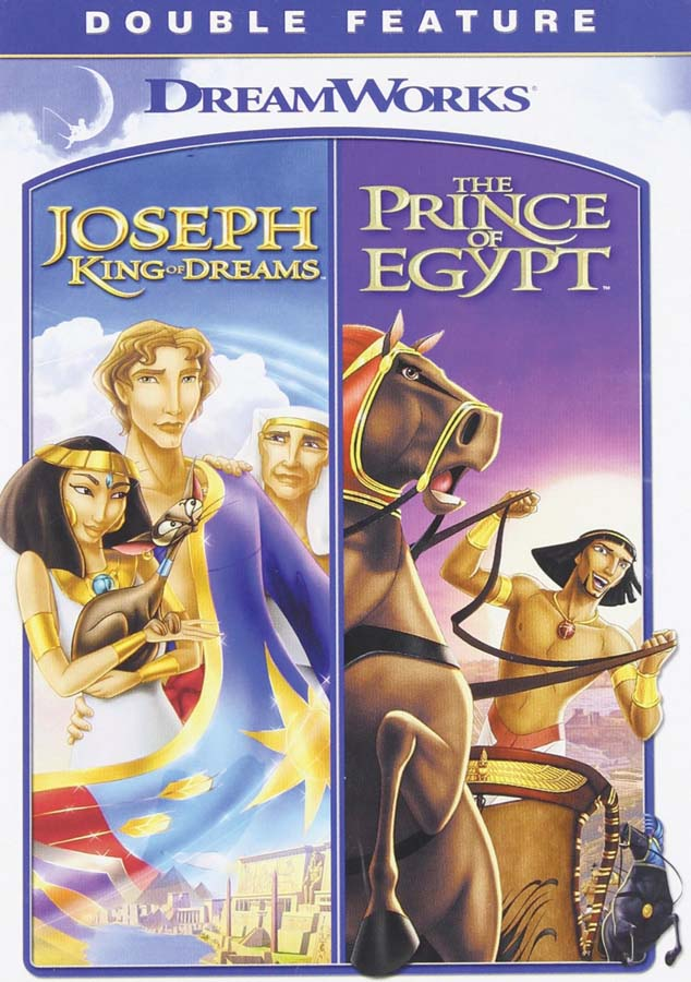 Prince of Egypt and Joseph King of Dreams Combo
