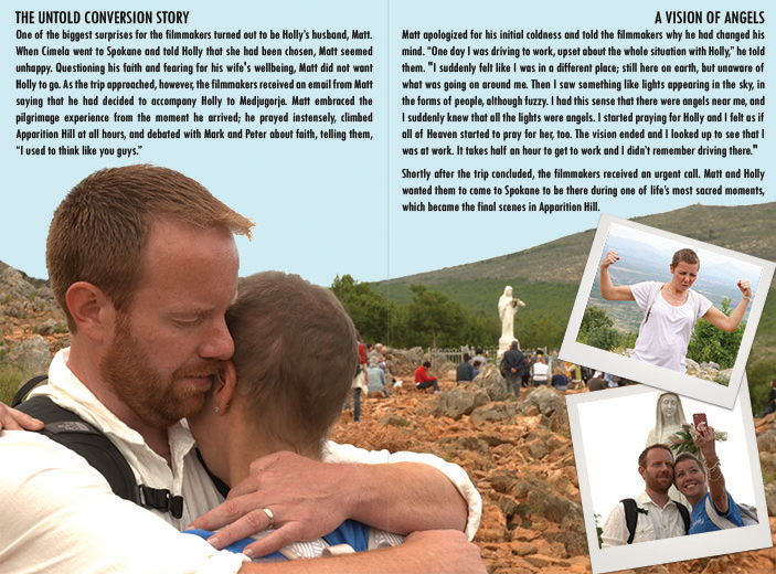 Sample from 12-Page Booklet with Apparition Hill DVD