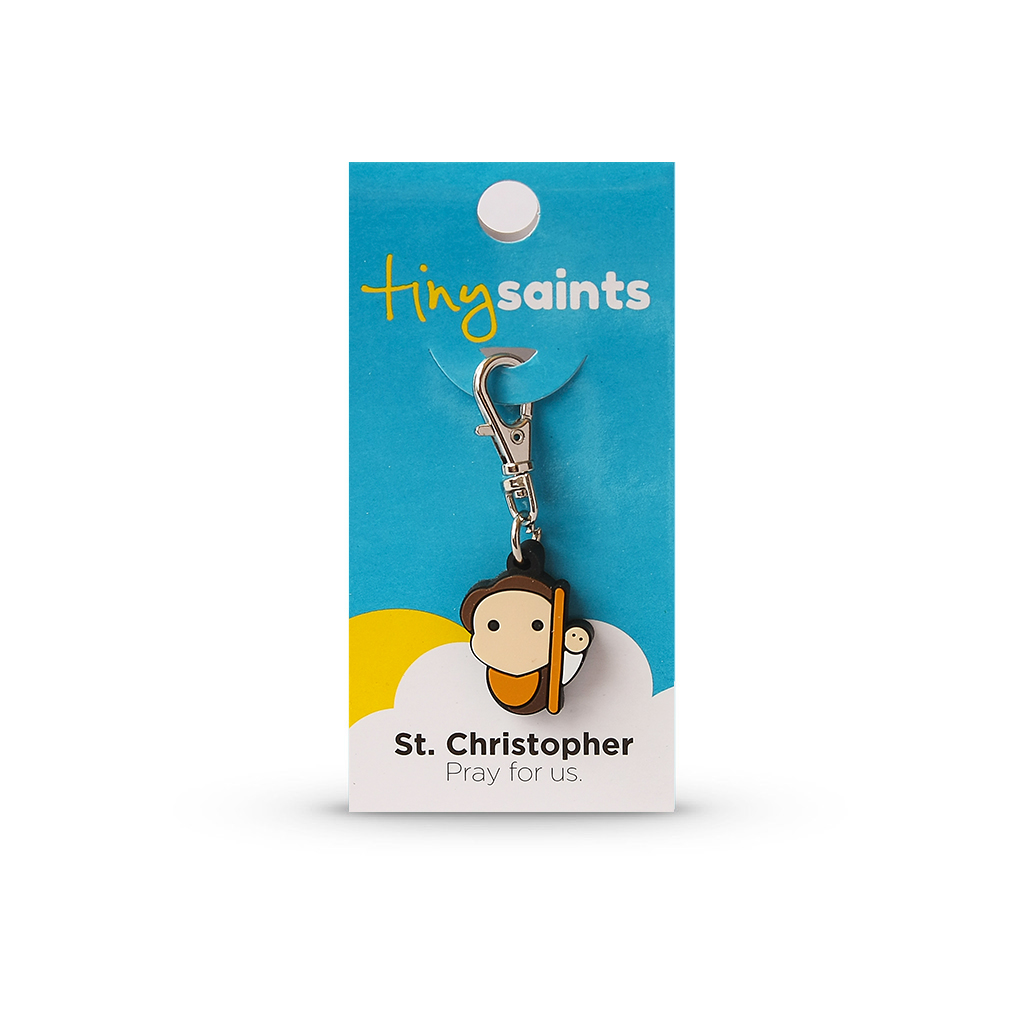 St. Christopher Tiny Saint Charm