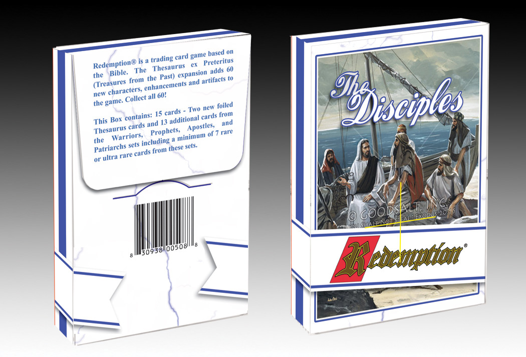 Disciples Card Pack