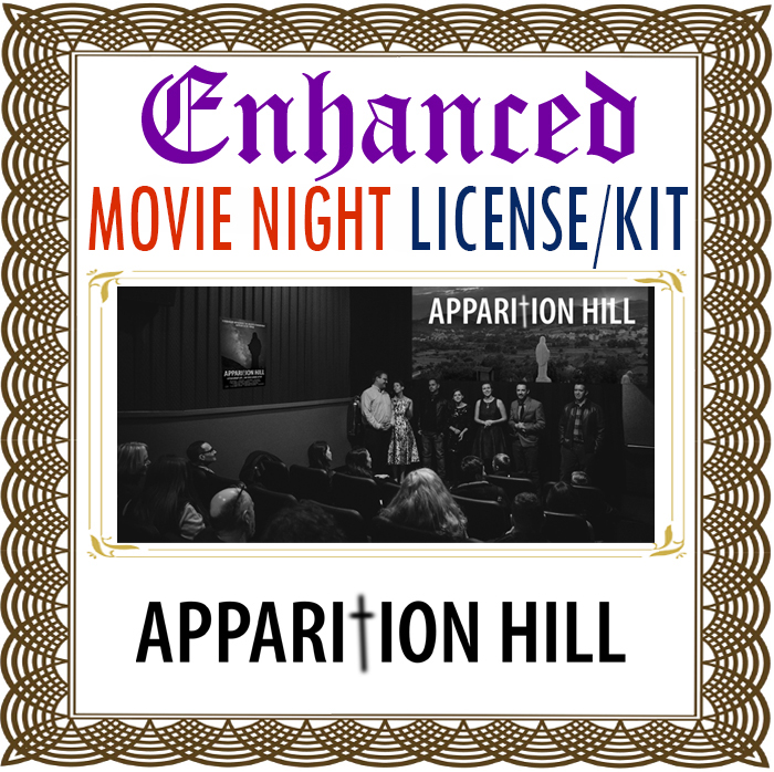 Apparition Hill DVD showing