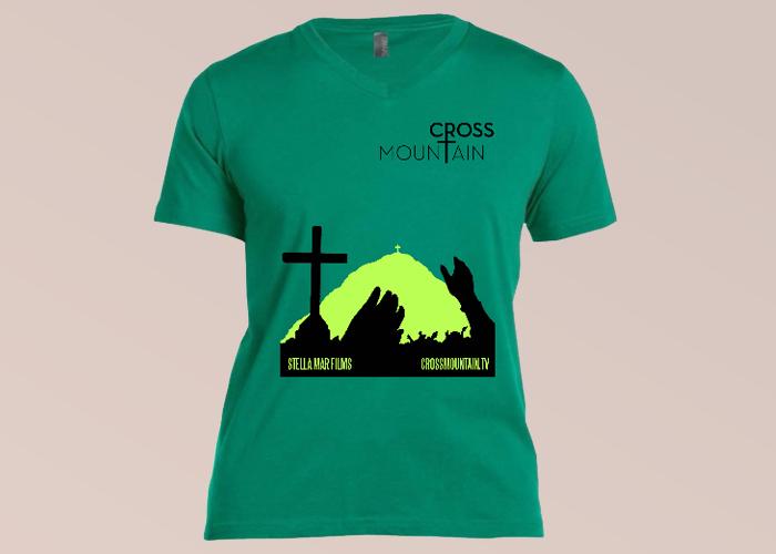 Cross Mountain Movie T-shirt