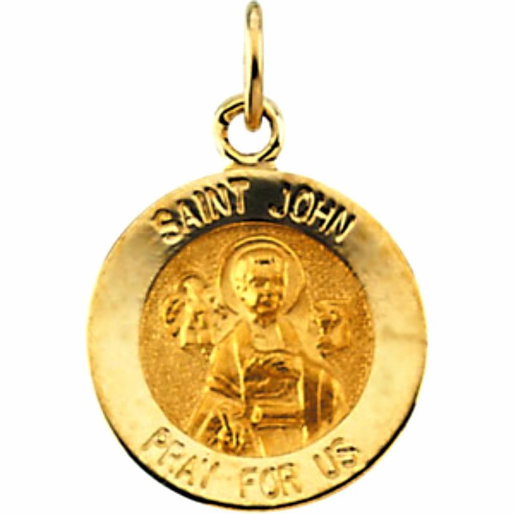 St. John Medal 14K gold