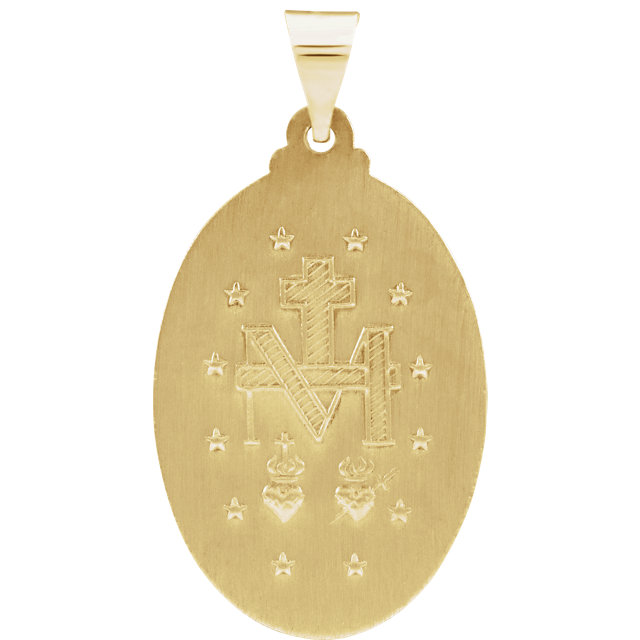 Back of Miraculous Medal