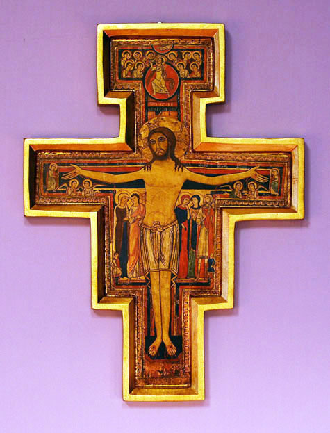San Damian Cross 6""