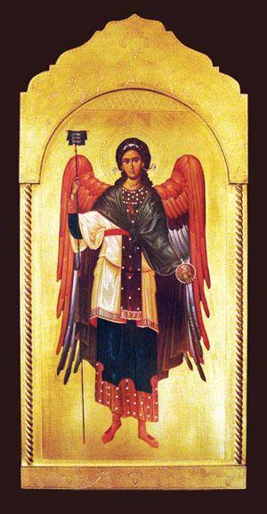 Archangel Gabriel Florentine Plaque