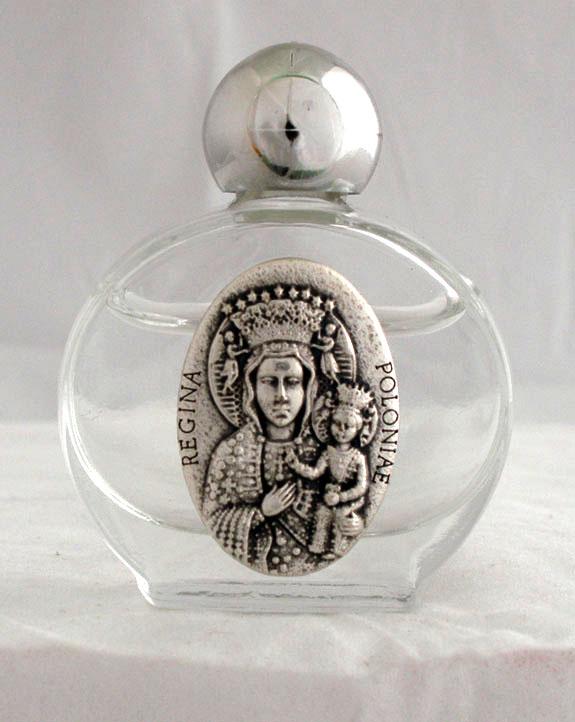 "Our Lady Of Czestochowa Holy Water Bottle 1.75X 2.25"""