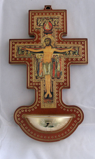 "San Damian Cross Font 4.5X8"""
