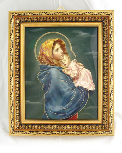 Madonna Of The Street Plaque 10.5X12.5""