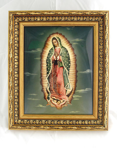 Our Lady Of Guadalupe Plaque 10.5X12.5""
