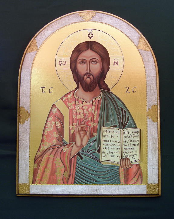 Christ The Teacher Florentine Plaque