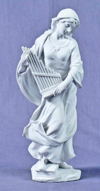 """St. Cecilia White 8.5"""""""