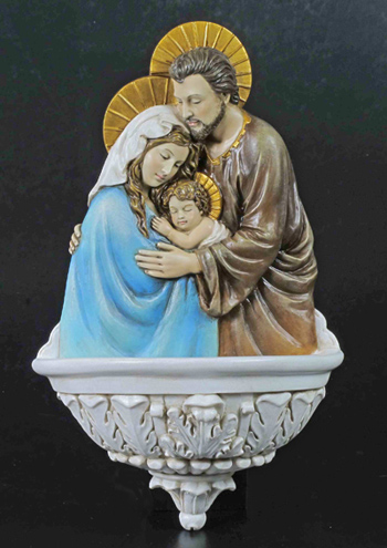 Holy Family Font Hand-Painted Colors 9""