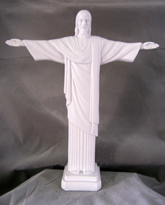 Christ The Redeemer White 11""