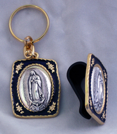 Guadalupe Visor Clip And Key Chain
