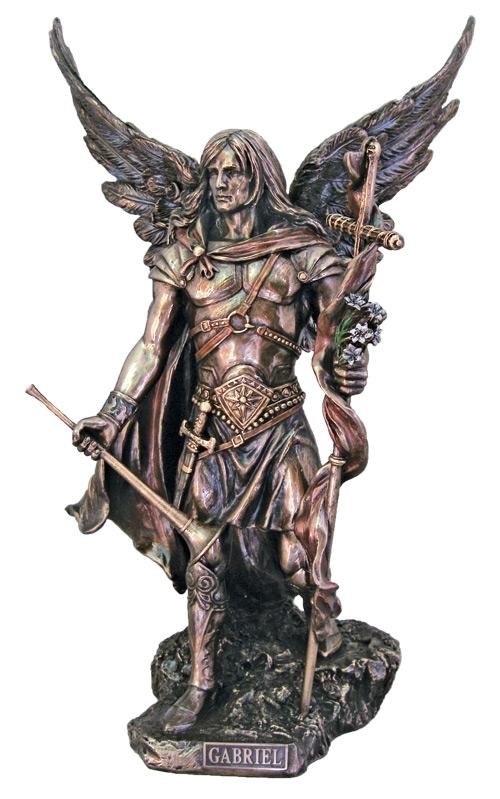 """Archangel Gabriel 13.75"""" Tall"""