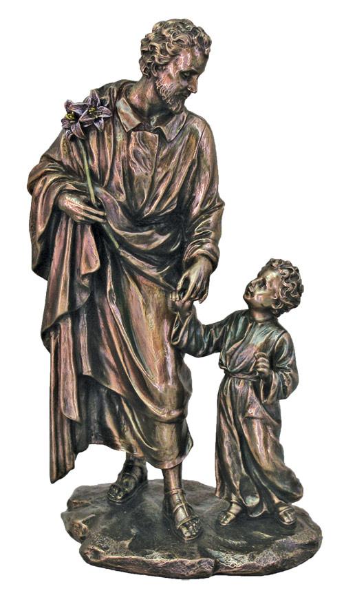 "St. Joseph And Child 8.25"""
