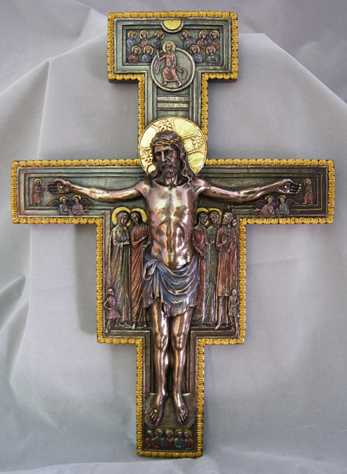 """San Damiano Crucifix 11X16"""""""