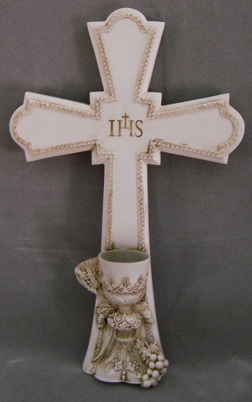 "First Communion Cross 7.25"""