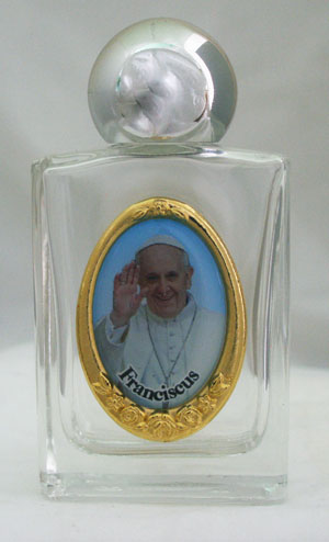 Fran Pope Francis Water Bottle