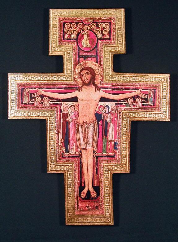 """San Damian Crucifix 29"""""""