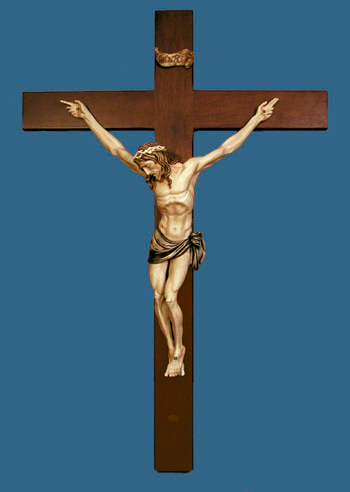 Large Crucifix By Ado Santini 46""
