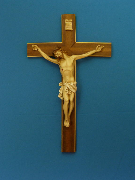 """Crucifix Wood Cross 20"""""""